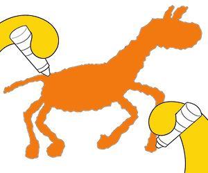 desenhos de Animais para as crianças mais novas para colorir e imprimir