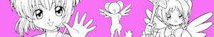 desenhos de Cardcaptor Sakura para colorir