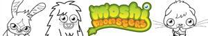 desenhos de Moshi Monsters para colorir