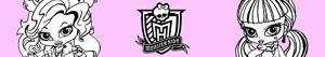 desenhos de Monster High Baby para colorir