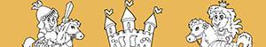 desenhos de Aventura na Idade Média para colorir