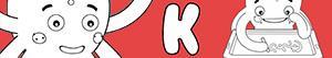 desenhos de Nomes de Menino com K para colorir