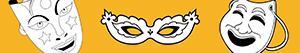 desenhos de Máscaras para colorir
